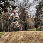 Bednarek na pumptracku